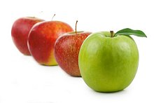 Ethics and Training. Library Image: Apples