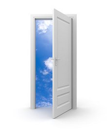 What is Counselling & Psychotherapy. Library Image: Doorway of Hope